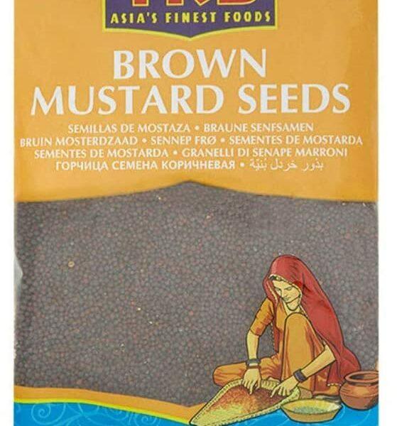 Brown Mustard Seeds 100g - TRS