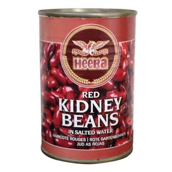 Red Kidney Beans Boiled 400G – Heera