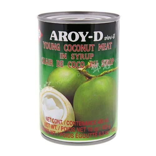 Aroy-D Young Coconut Meat In Syrup 400Ml