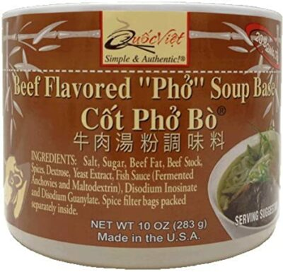 Beef Flavored Pho Soup Base 283G
