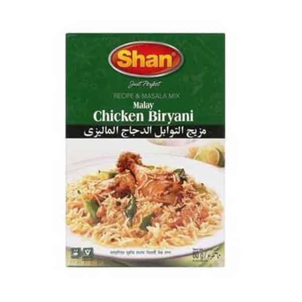Chicken Biryani Malay 50g Shan