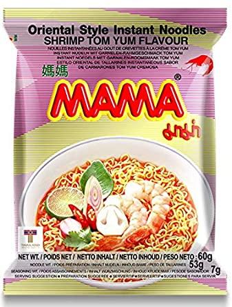 MAMA Tom Yum Shrimp Noodles 60G