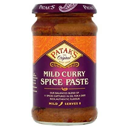 Mild Curry Paste Pataks 283G