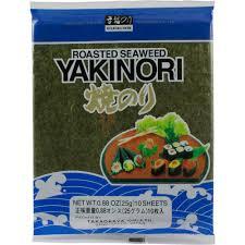 Roasted Seaweed Yakinori 25g