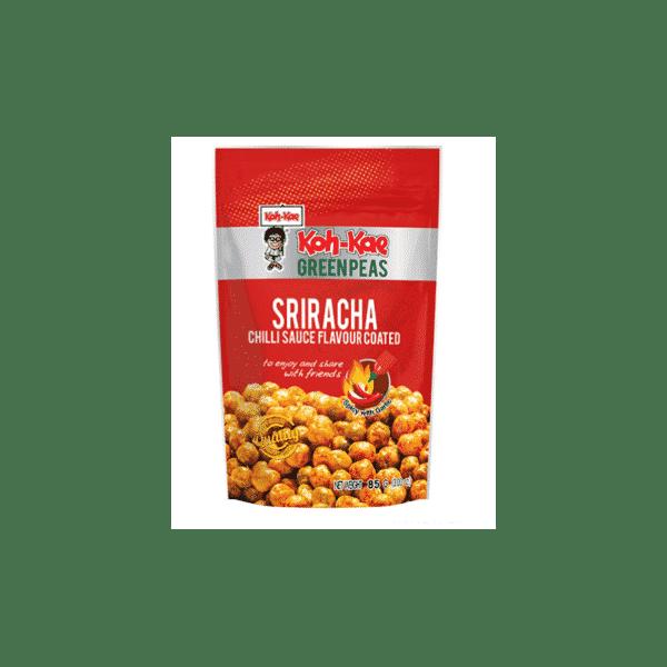 Sriracha Green Peas Chilli Flavour 85G - Koh Kae