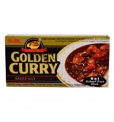 Golden Curry (Hot) 240g – S&B