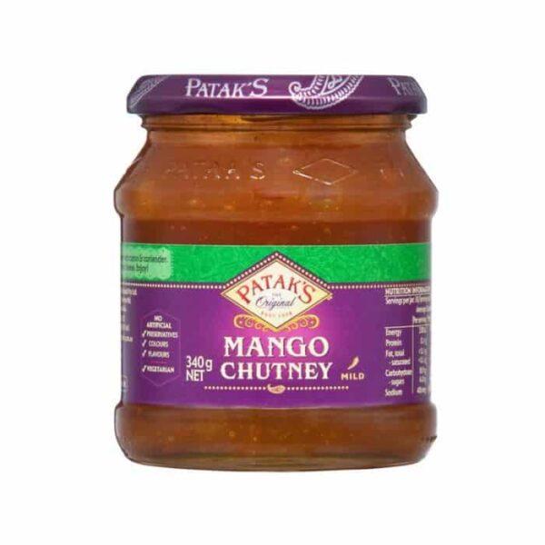 pataks-sweet-mango-chutney-340g