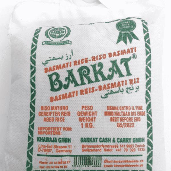 Barkat Basmati Rice 1 Kilo