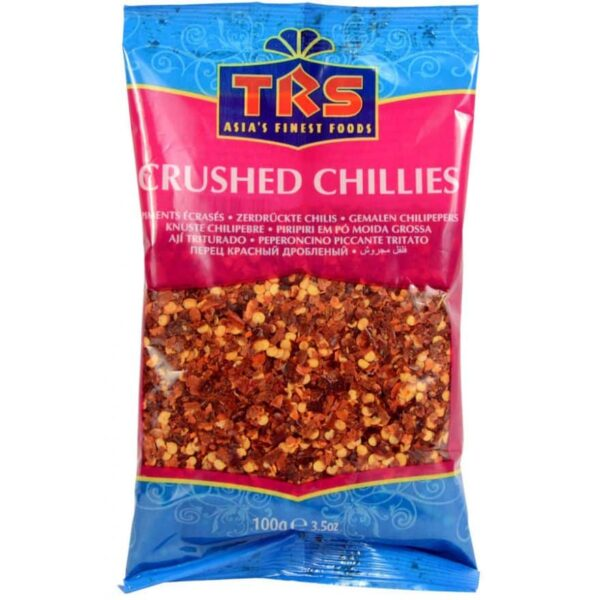 Crushed Chillies 100g - TRS