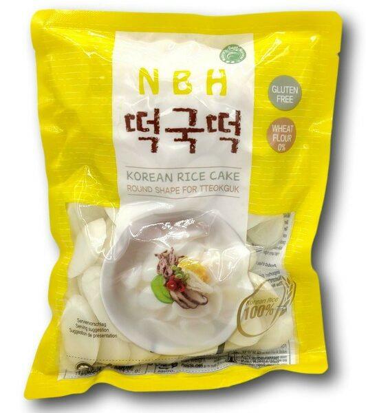 Korean Rice Cake 500g Round - NBH