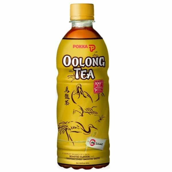 Oolong Tea 500ml ( Roasted Flavour No Sugar) - Pokka