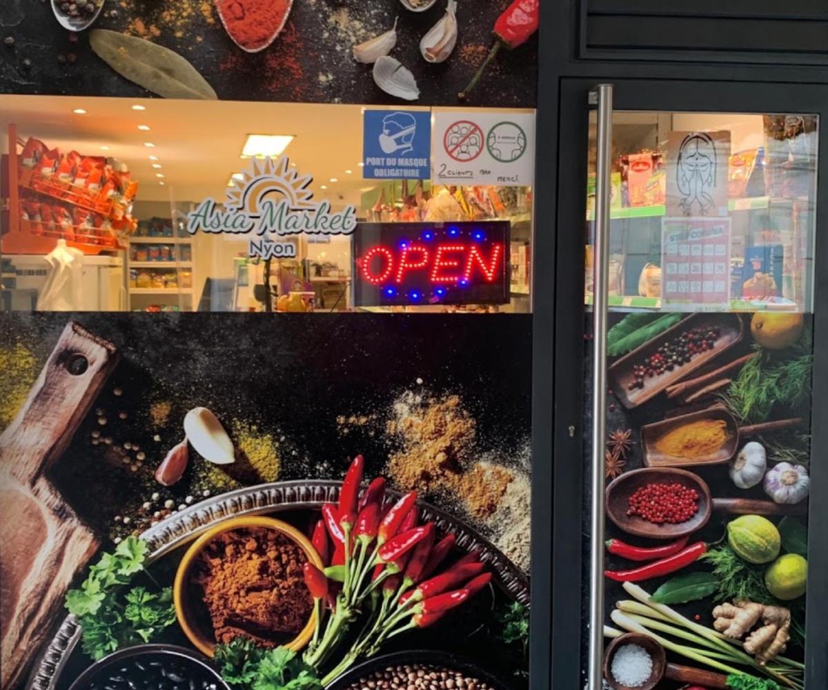 Asia Market Nyon Shop
