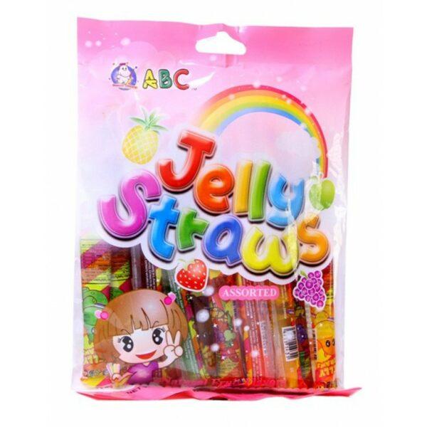 Jelly Straws ABC