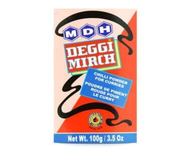 Deggi Mirch - Chilli Powder for Curries 100g - MDH