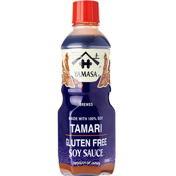 Tamari Soy Sauce 500ml - Yamasa (Gluten Free)