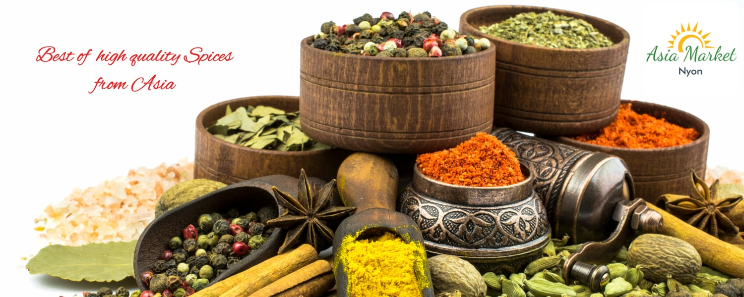 Buy Asian Spices from Asia Market Nyon