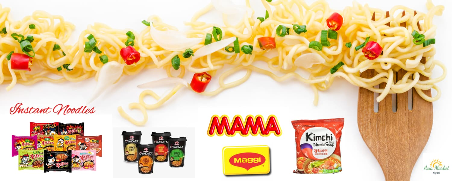 Buy Instant Noodles at Asia Market Nyon