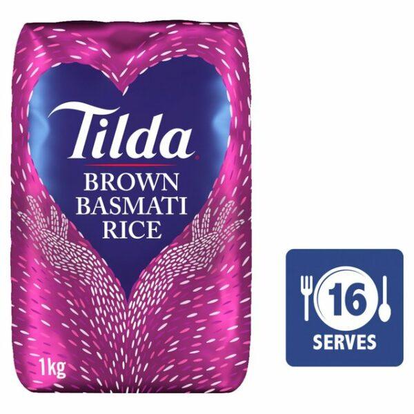 Tilda Basmati brown rice 1 Kg