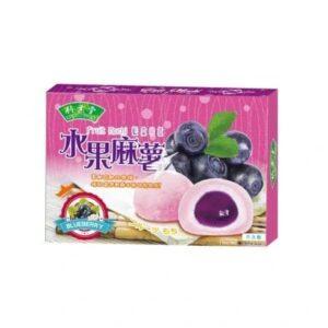 Blueberry mochi