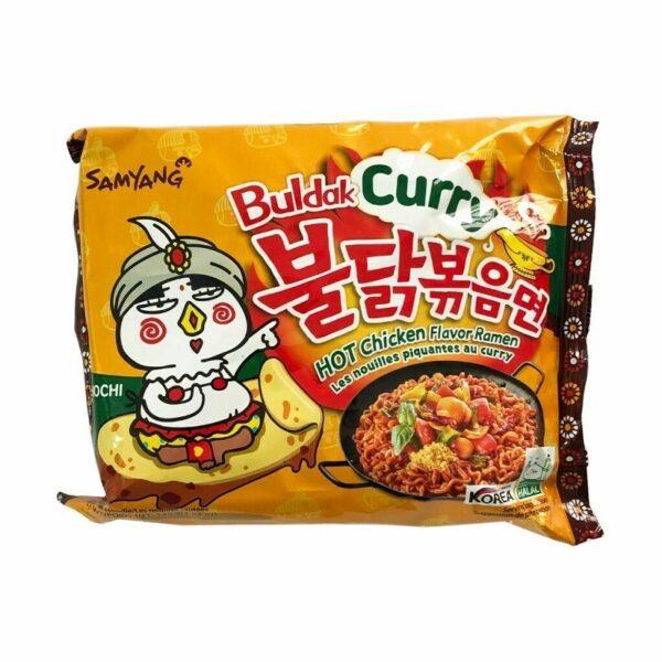 Buldak curry